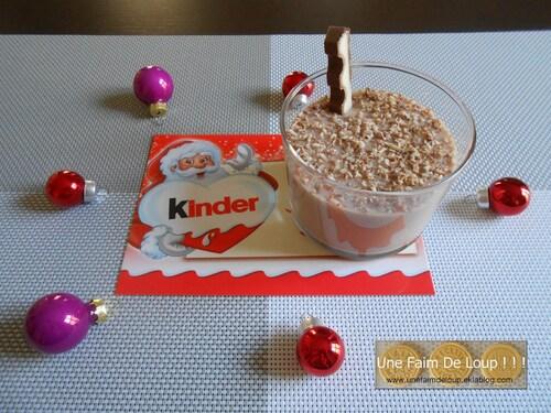 Crème dessert au Kinder