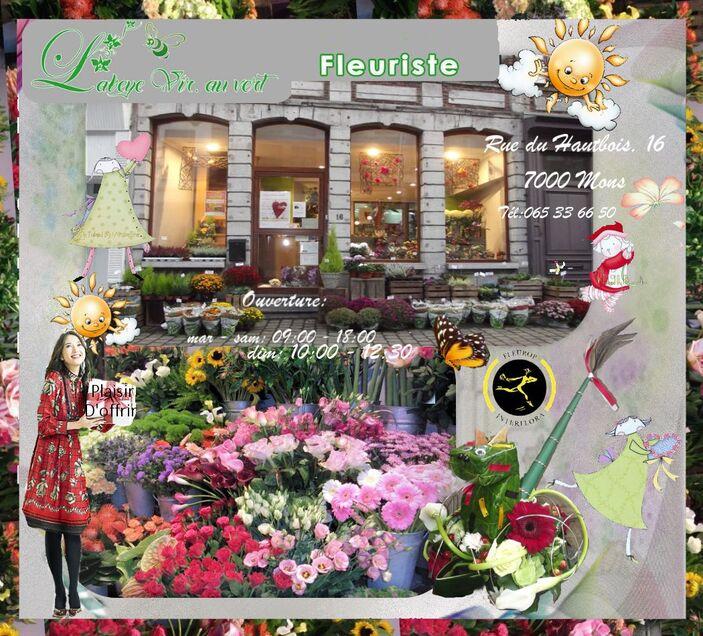 Labeye Vir. au vert, virginie,mons, fleuriste, fleurop,bloemen, bergen,blumen,flowers shop