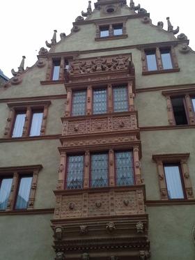 Dans les rues de Colmar