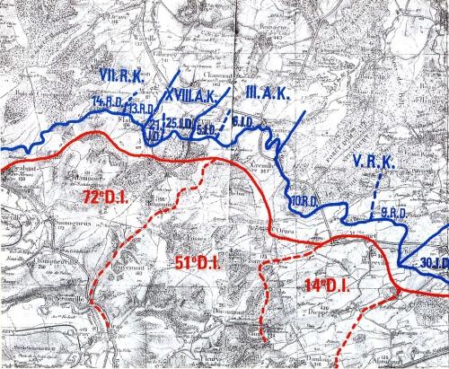 L'offensive allemande de février 1916