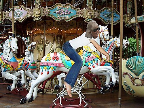 L'équitation pour les blondes