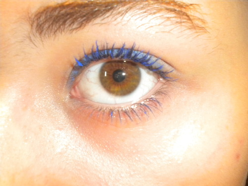 Test!:Le mascara bleu de chez Yves Rocher