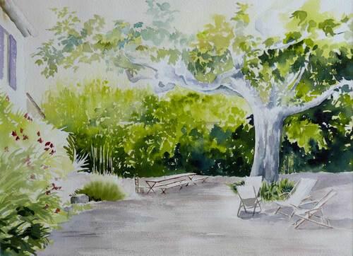 Peinture de : Josette Mercier Kornmayer