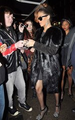 Rihanna au O'Donoghue's pub à Dublin