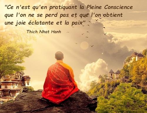 Pleine conscience - Thich Nhat Hanh