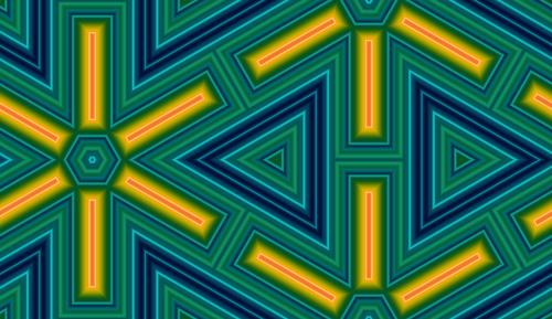 Texture en triangle