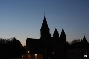 La Lune et Vénus à Paray-Le-Monial