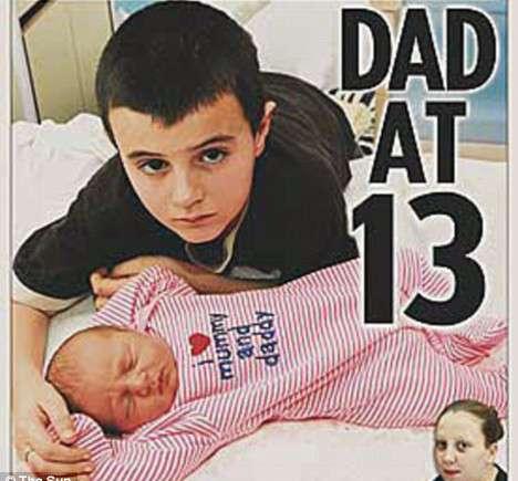 Papa à 13 ans: les tests ADN seraient négatifs pour Alfie