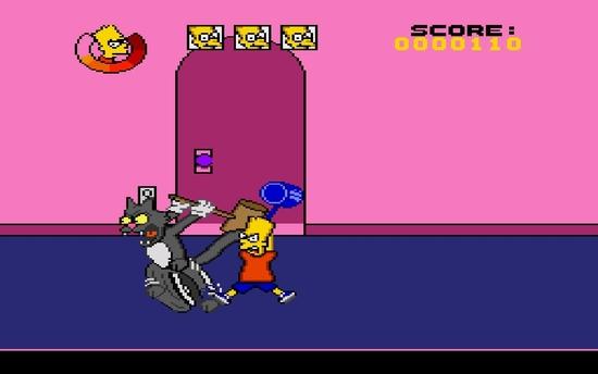 The Simpsons Bart's Nightmare ssssssss