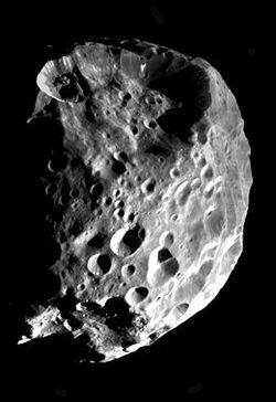 Découverte de Phoebé , Lune de Saturne , le 17 Mars 1899
