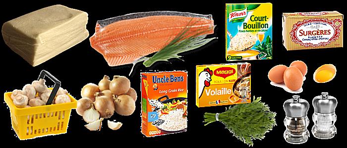 Coulibiac de saumon