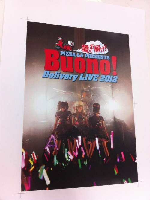 Buono! Photobook Du live Delivery 2012