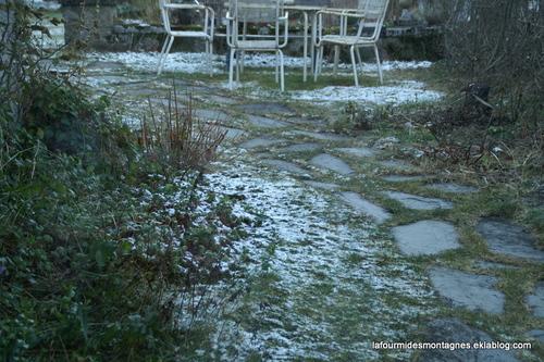 Il a neigé....