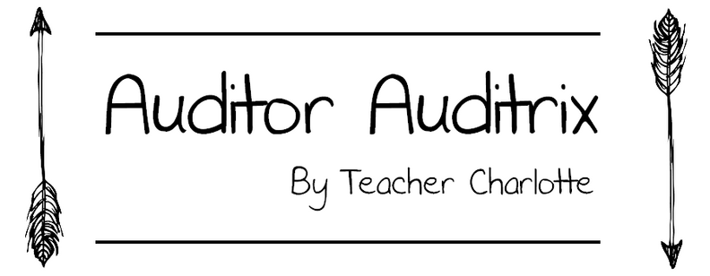 Auditor Auditrix by Teacher Charlotte