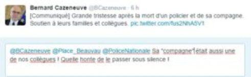 Hommage officiel de Bernard Cazeneuve minimisant les faits