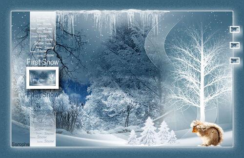 *** FIRST SNOW ***