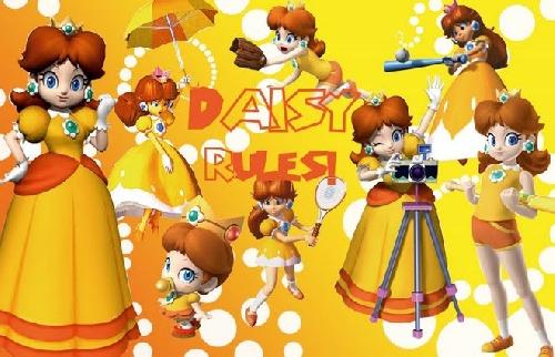Peach Rosalina et daisy