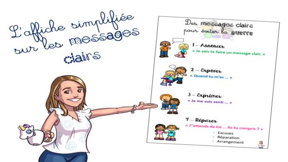 Devise et messages clairs