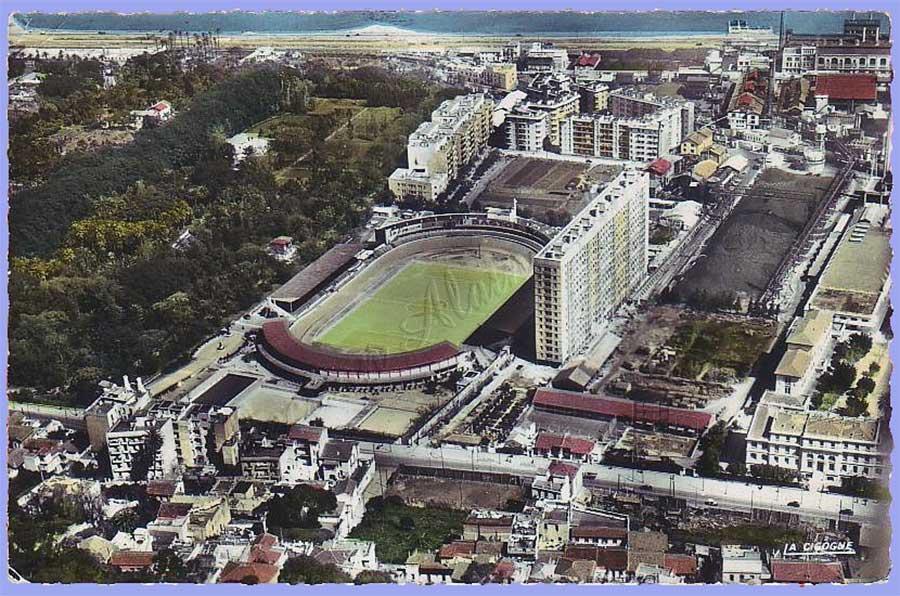 Le Stade Municipal et son Vélodrome.