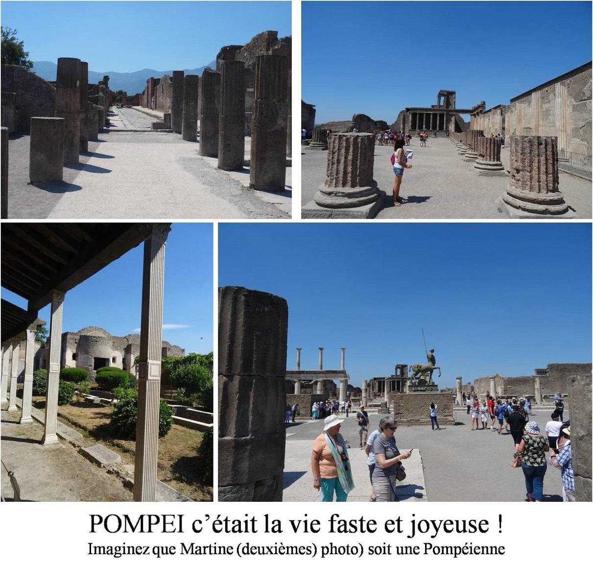 Gragnano et POMPEI