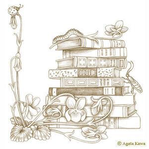 Agata_Kawa_Cabochon_Livres