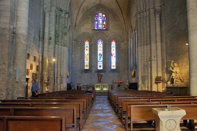 Visite de l'Abbaye de Brantôme