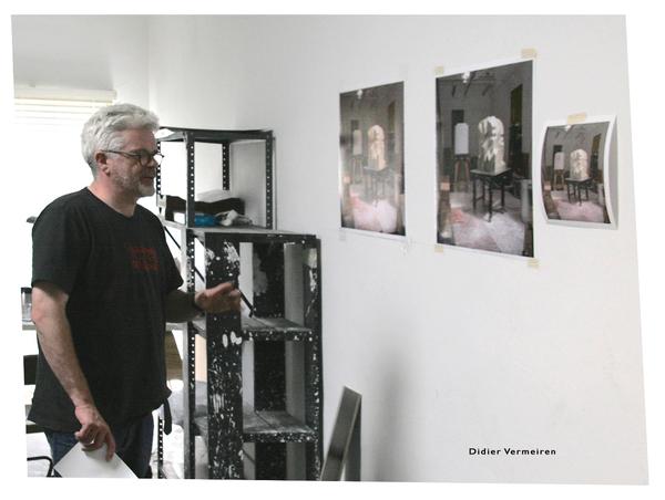 DIDIER VERMEIREN SCULPTEUR Portrait au studio
