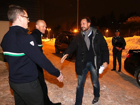 Haakon et les bénévoles