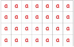 Les lettres mobiles de Taoki... une aide à l'encodage