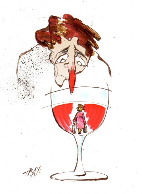 Humour et vigne voyage alcoolisme