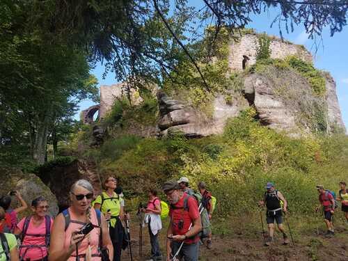 Rando des 6 châteaux en Alsace