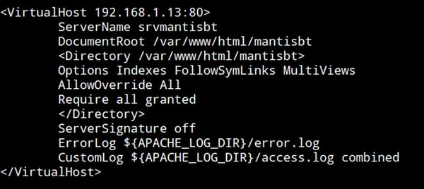 Installer Mantis Bug Tracker sur Debian Stretch