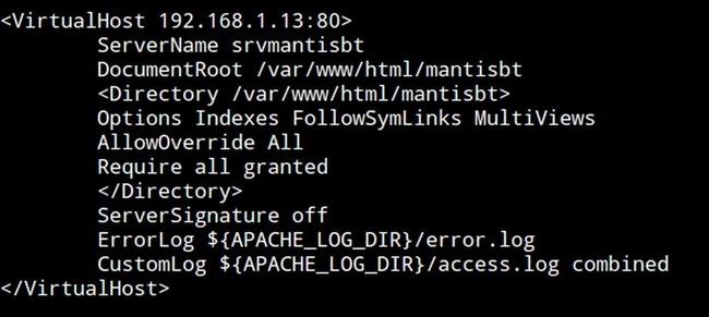 Installer Mantis Bug Tracker sur Debian Stretch