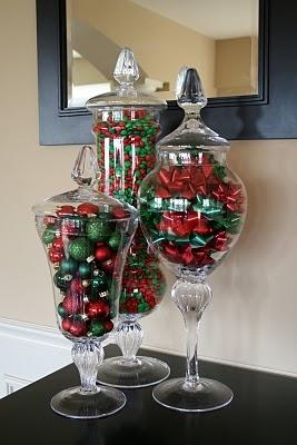 Idée Déco Noël : Les bocaux