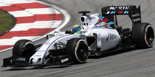 Williams Martini Racing Williams FW36 Felipe Massa