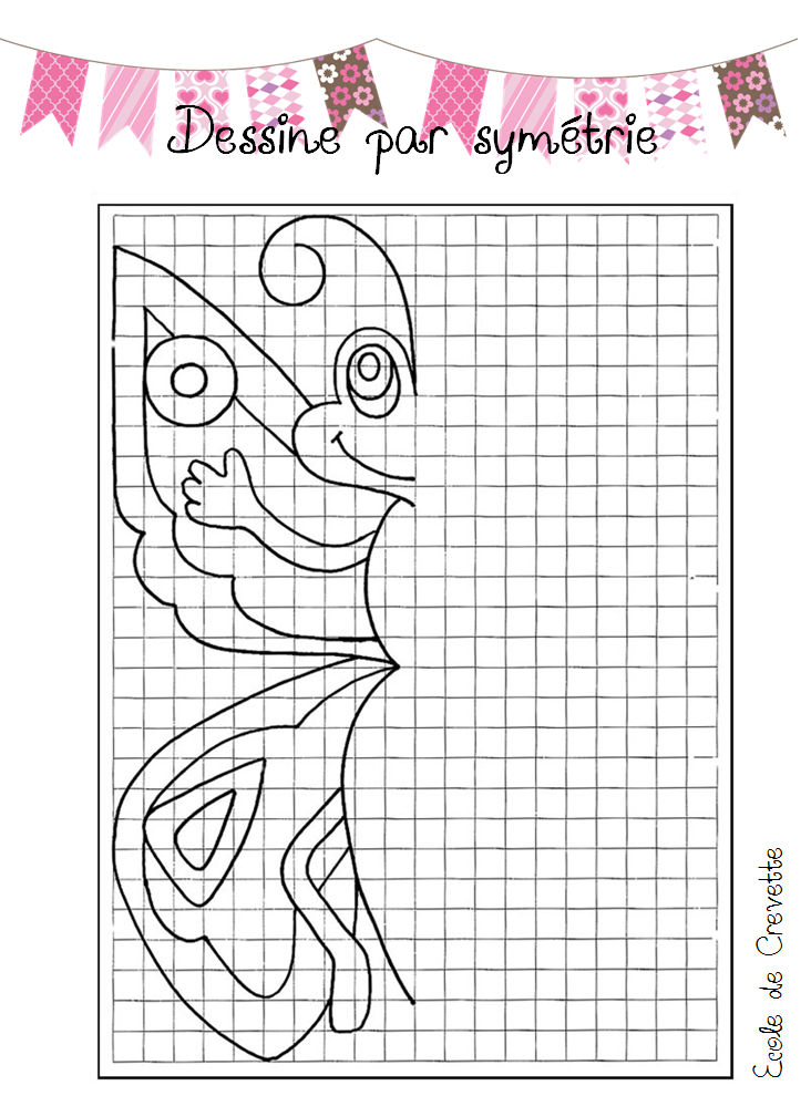 Blasons d 39 autonomie l 39 cole de crevette - Symetrie a imprimer ...