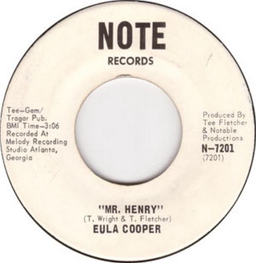 Eula Cooper : Mr. Henry