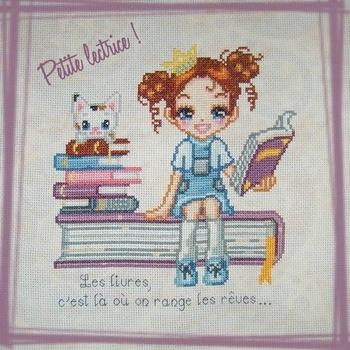 Petite lectrice par Lisbei