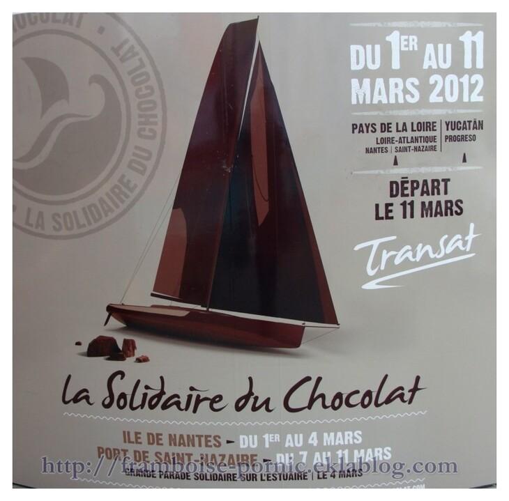 Transat La Solidaire du Chocolat  à St Nazaire