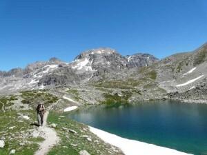 Lac du Peyron 2453m 1