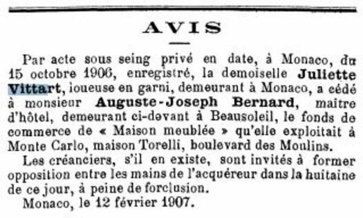 Journal de Moncao n°2536 du 12 février 1907