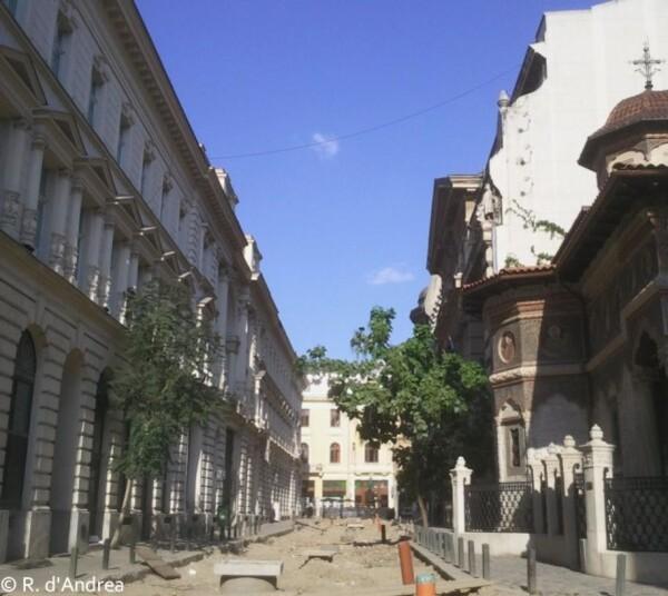 Bucarest, rue Stavropoleos