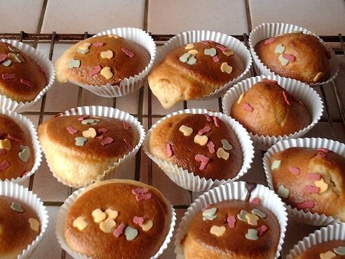 "Muffins décor ""foot"""