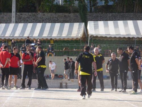 Nos Equipes villeneuvoise au Grand prix de Lamastre le 23/24 septembre 2017