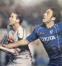 MCA - Fiorentina 1-1 Bouacida-Luca Toni