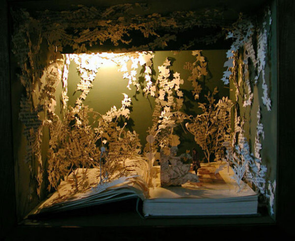 Les sculptures de papiers de Su Blackwell   !