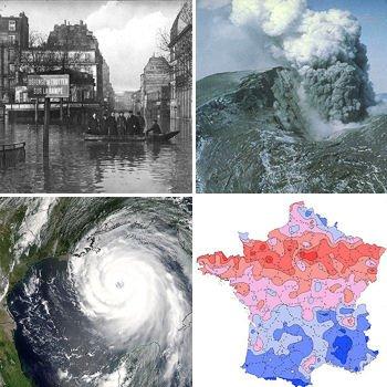les grandes catastrophes des 100dernières années.
