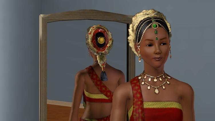 Sims 3, les tenues indiennes et africaines