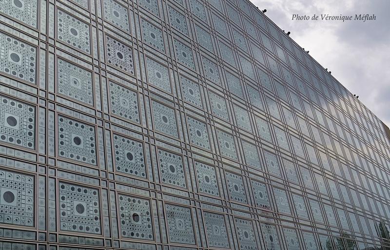 L'Institut du Monde Arabe : Façade sud