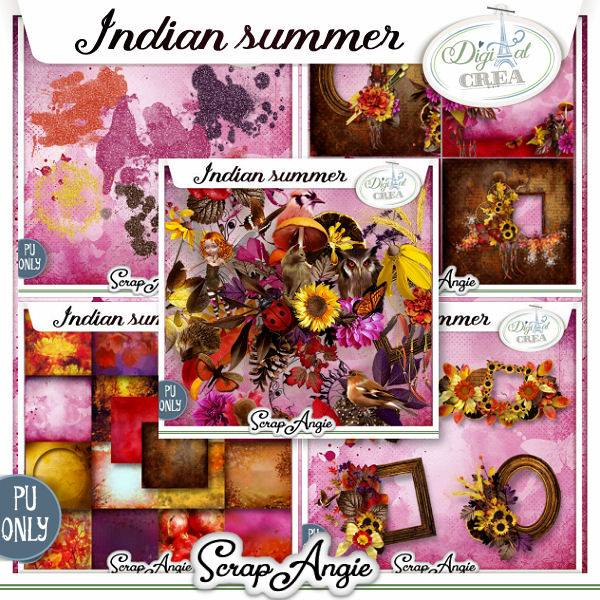 INDIAN SUMMER by Scrap'Angie